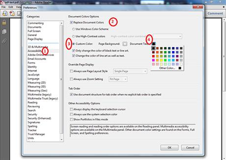 comment changer la couleur du texte dans la zone de texte pdf