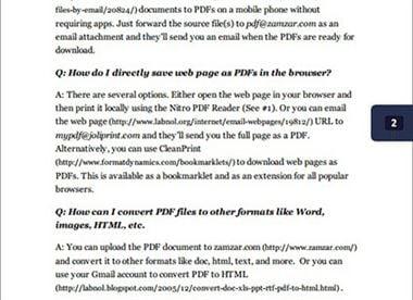 chrome pdf