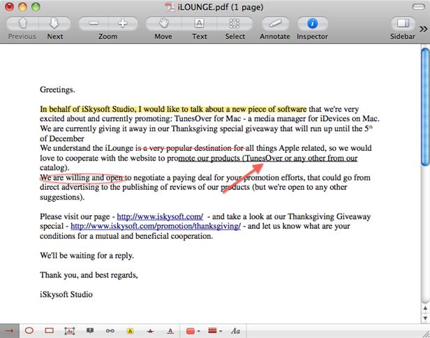 resaltar pdf en preview