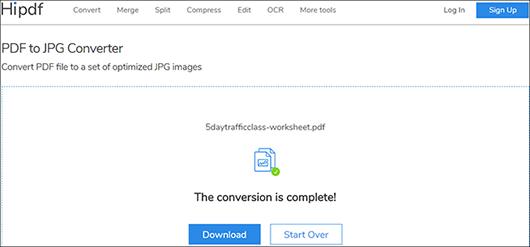 convert pdf to jpg online
