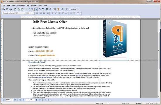 infix PDF Editor 6 Professional