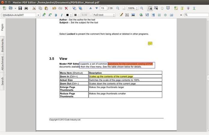 master PDF Editor 6 Professional