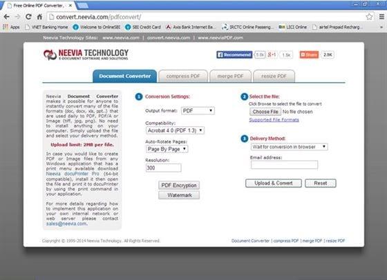 Neevia Document Converter