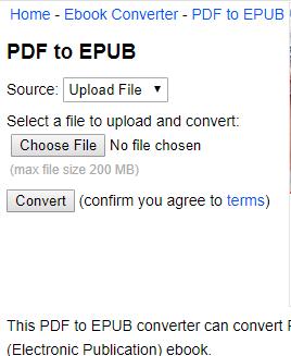 online pdf to epub