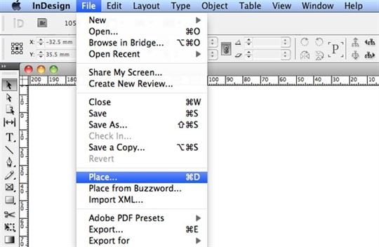 Important PDF to InDesign