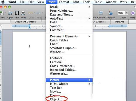 rotate pdf in word