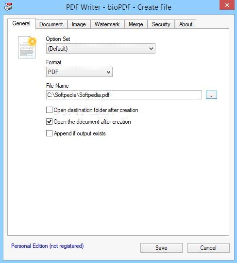 pdfwriter mac