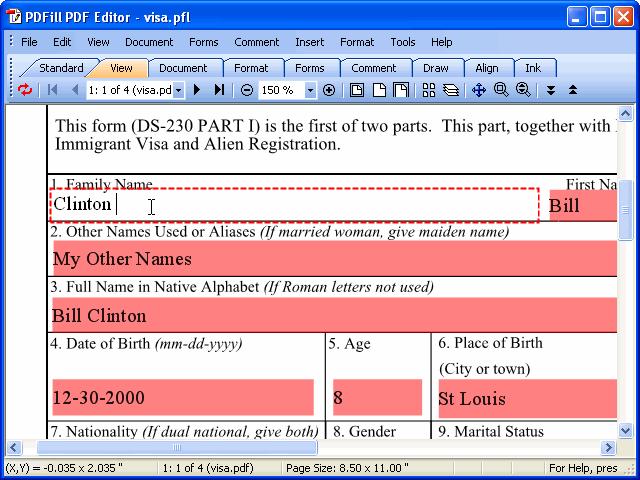 verypdf compilatore di moduli PDF