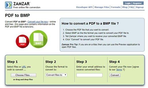 zamar pdf en bmp