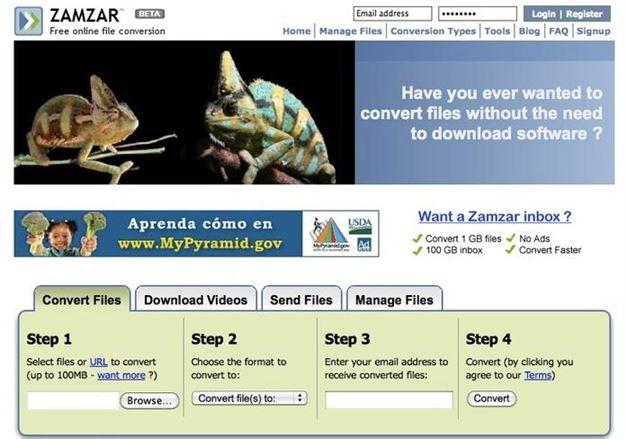 ZAMAR PNG to PDF Converter
