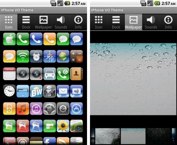 Top 5 iPhone Themes for Android Free Download