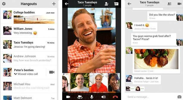 android and iphone video chat