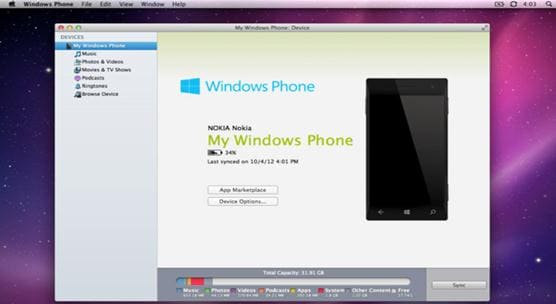 transfer apps from windows phone to windows phone