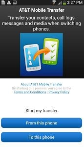 AT & T Mobile Transfer