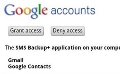 How to Backup Android Contacts, Text Message to Gmail