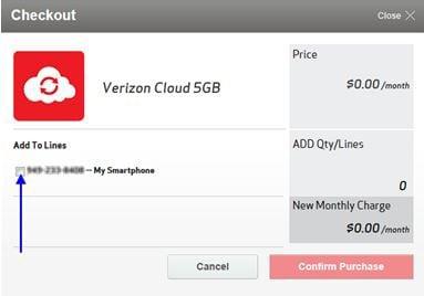 add other Verizon lines