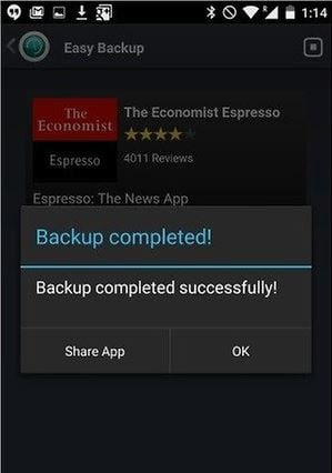 backup Android game data
