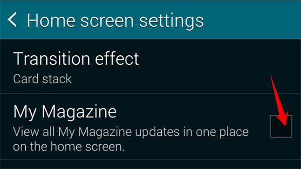 changing samsung phone my magazine