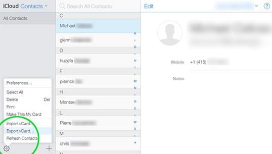 How to Copy Contacts from iOS to Android