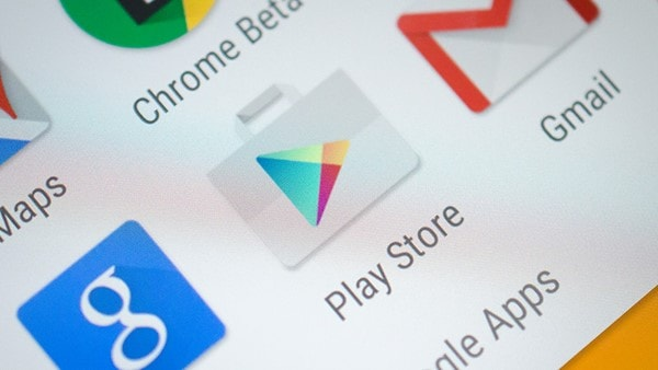 log in Google Play Store