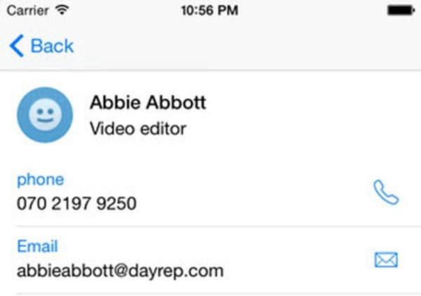 how to delete contacts on iphone fast