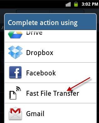 fast file tranasfer