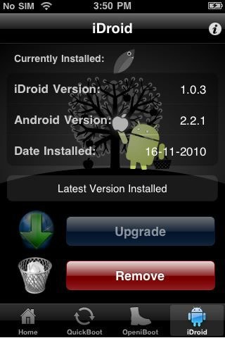 get Android on iOS