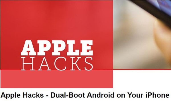 execute the dual-boot