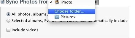 get photos from iPhone to iPad