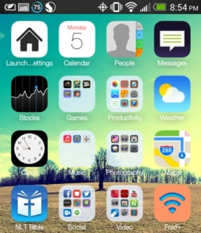 Top 12 Best iPhone Launcher for Android