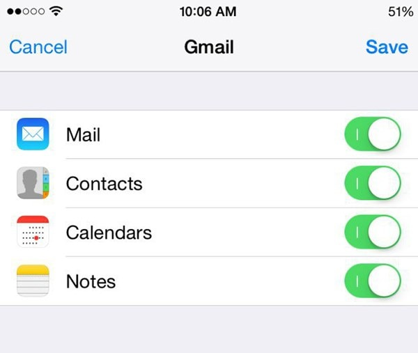 Transfer iOS Notes to Android