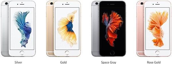 iphone 7 colour