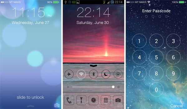 How to Get iPhone Lock Screen for Android