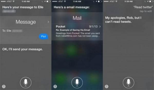 Get Siri to Read Your Emails