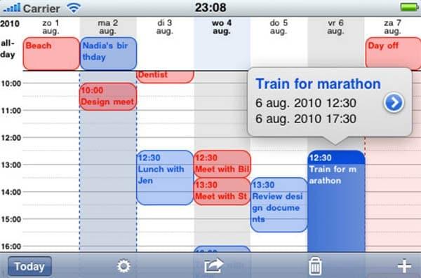 See a More Detailed Calendar