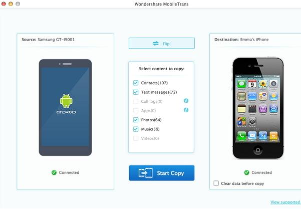 Top 5 iPhone to Android Transfer App Free Download