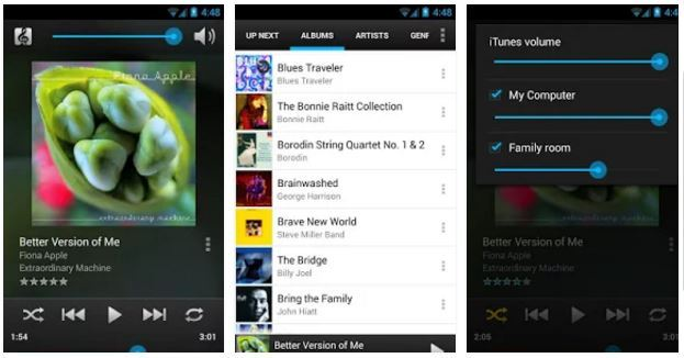 top 3 best itunes remote android apps