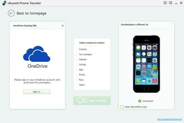 restore data to iphone 8