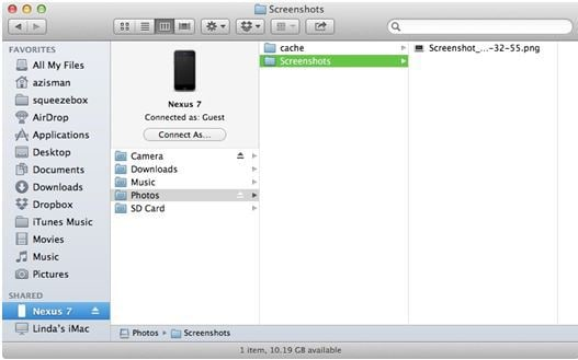 Samsung file transfer to Mac