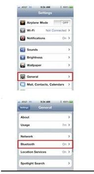 send contacts from iphone to car bluetooth