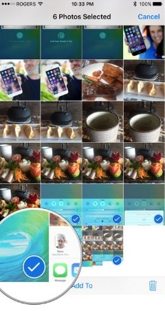 send photos from iPhone to iPad