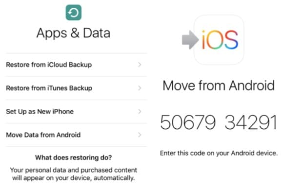 How to Switch from Android to iOS