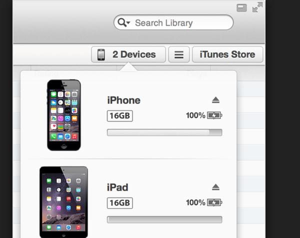 transfer apps from iphone to iphone with itunes 1