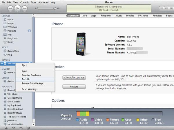 transfer apps from iphone to iphone with itunes 2