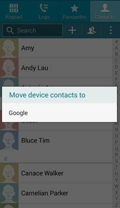 select Google