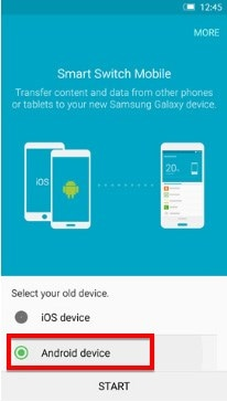 samsung contacts transfer