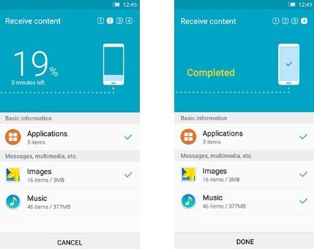 Samsung smart switch transfer data