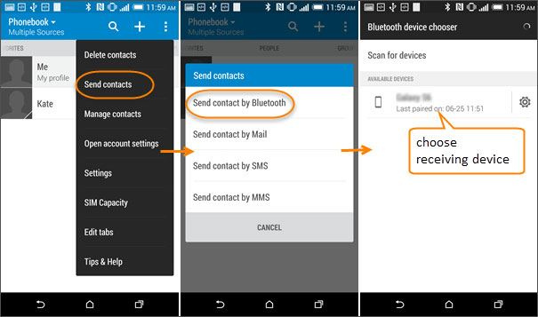 how to transfer htc to samsung s9