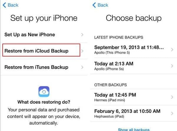 transfer notes from iphone to iphone 3