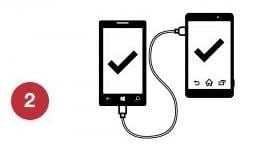 transfer windows phone data with xperia transfer